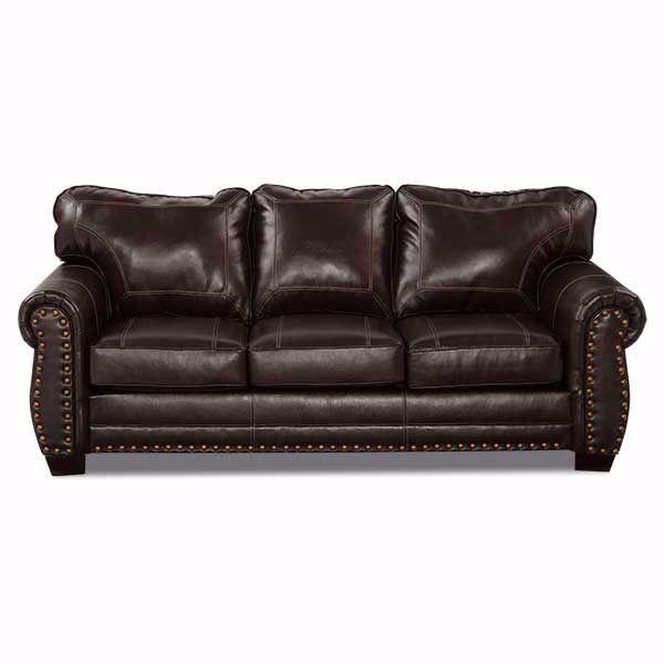 Picture of Espresso Bonded Leather Sofa