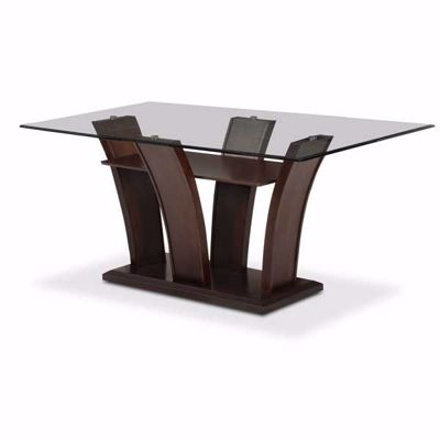 Picture of Manhattan Glass Top Dining Table