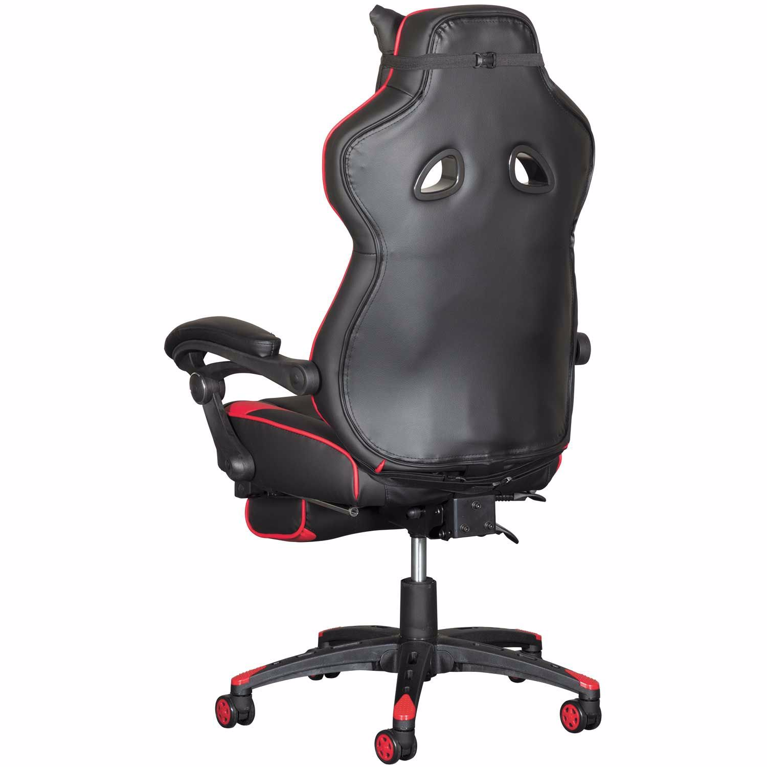 Marvelous Revolution Red Gaming Chair With Footrest Bralicious Painted Fabric Chair Ideas Braliciousco