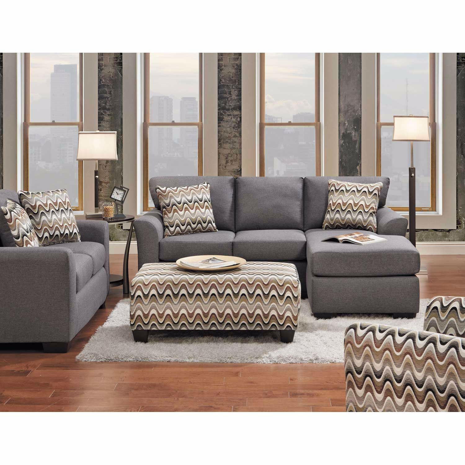 Picture of Ryleigh Waves Accent Chair