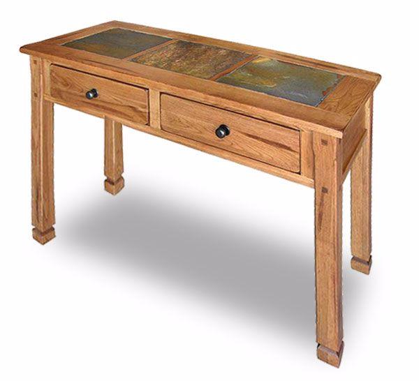Sedona Rustic Oak Sofa Table 3145 S Afw Com