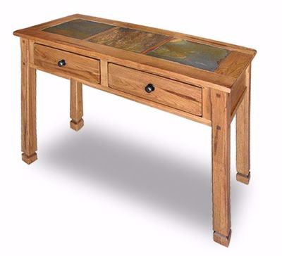 Picture of Sedona Rustic Oak Sofa Table