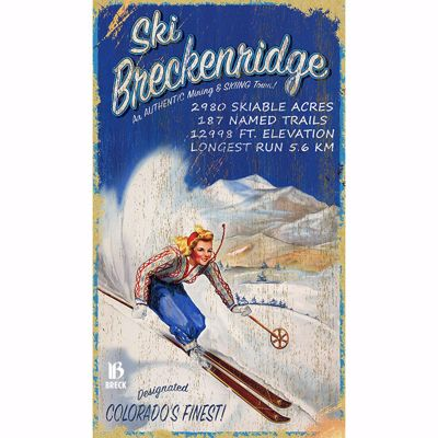 Picture of Ski Breckenridge Sign