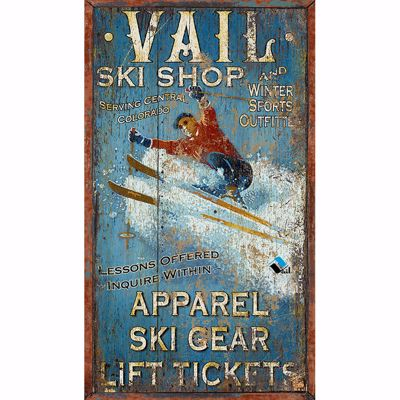 Picture of Vail Ski Shop Sign