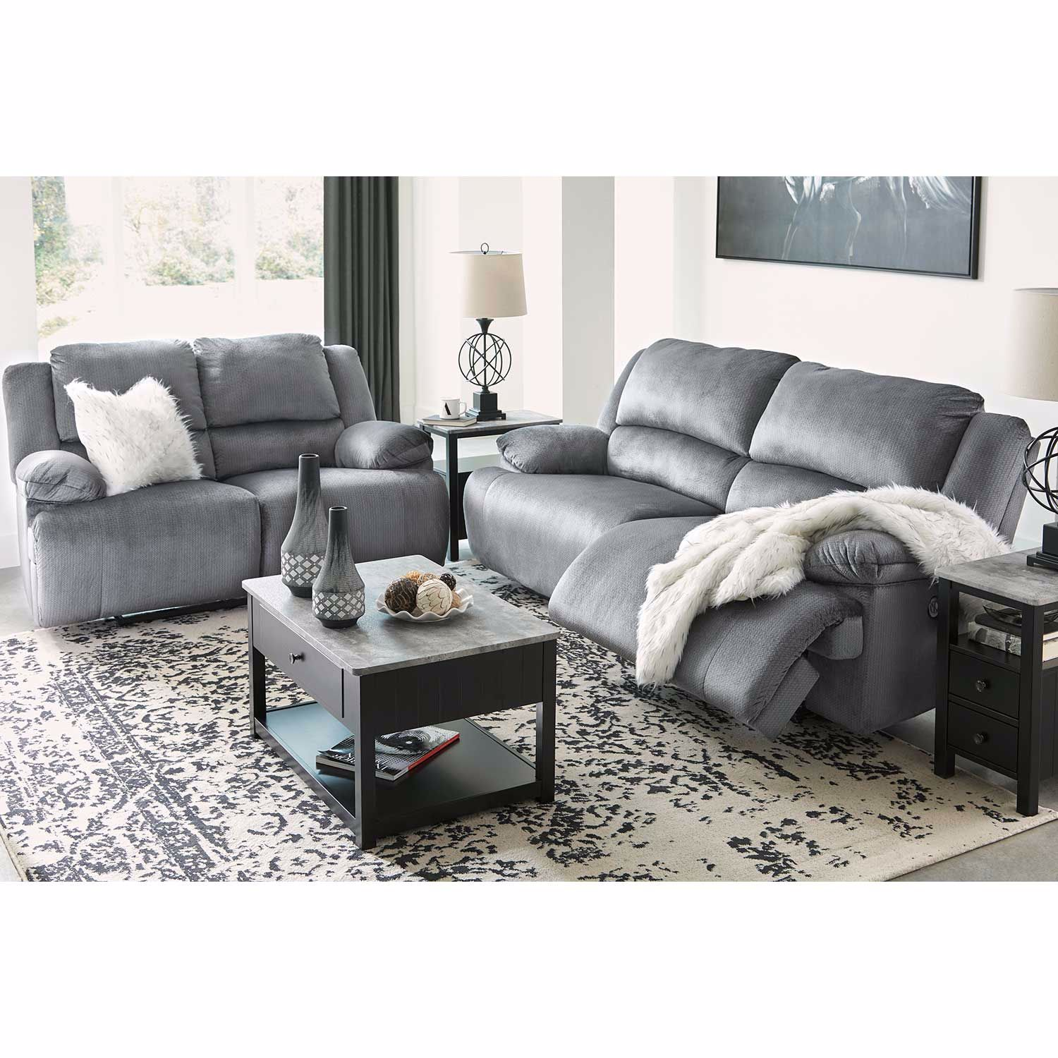 Picture of Charcoal Power Recliner