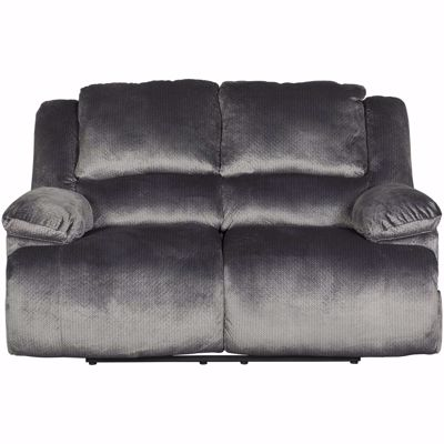 Picture of Charcoal Reclining Loveseat