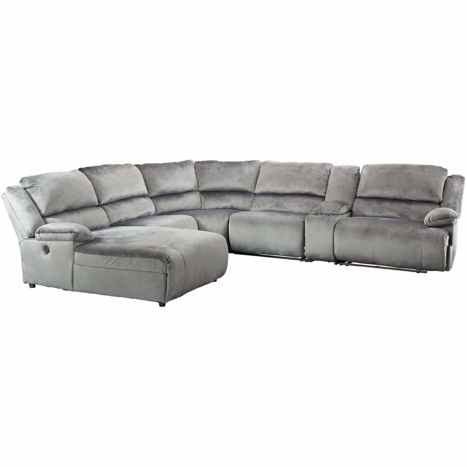 Picture of Clonmel 6 Piece Reclining Sectional with LAF Chaise