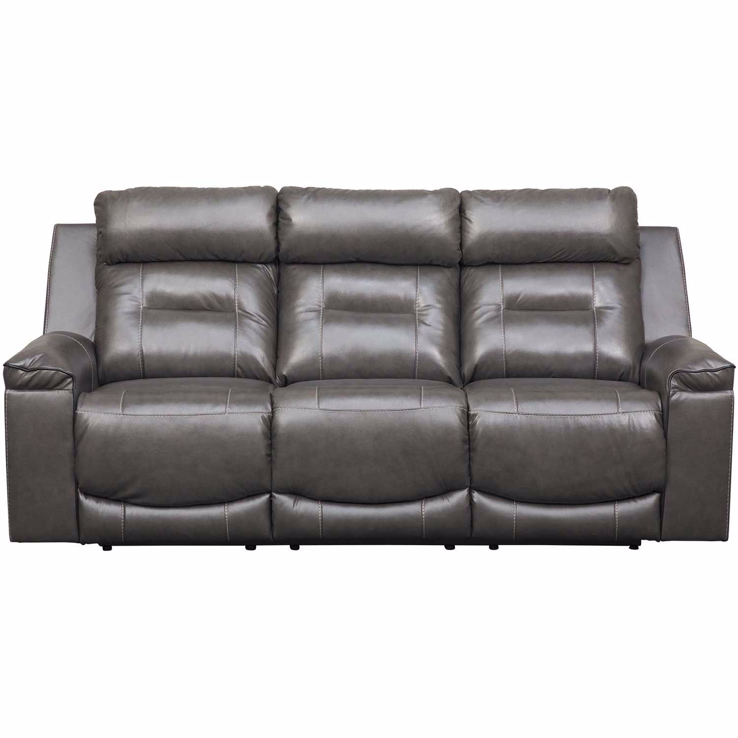 Pomellato Leather Power Reclining Sofa U5010115 Ashley Furniture