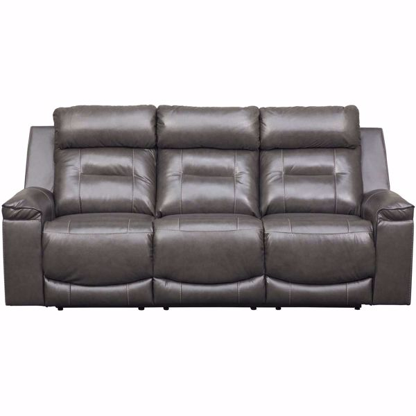 Picture of Pomellato Leather Power Reclining Sofa