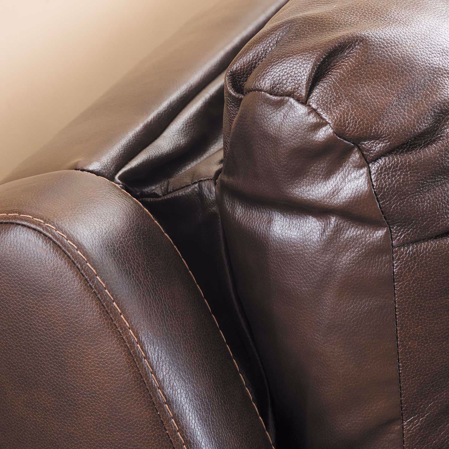 Picture of Buncrana Italian Leather Power Reclining Sofa with Adjustable Headrest