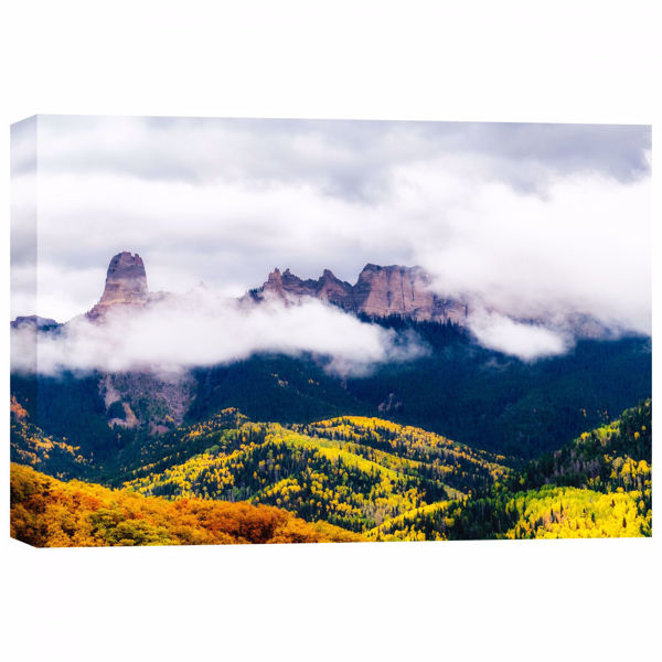 Picture of Mysterious Courthouse Mountain 32X48 *D