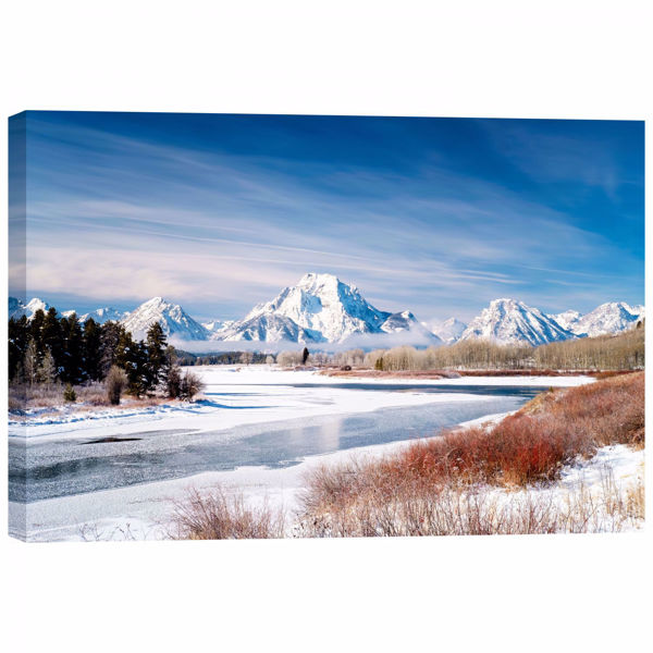 Picture of Winter At Oxbow Bend 32X48 *D
