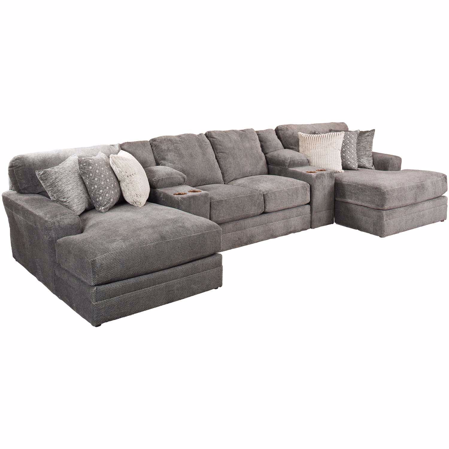 Mammoth 5 Piece Sectional with LAF and RAF Chaise