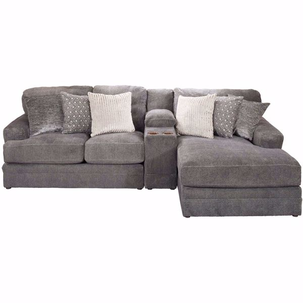 Picture of Mammoth 3 Piece Sectional with RAF Chaise and LAF Loveseat