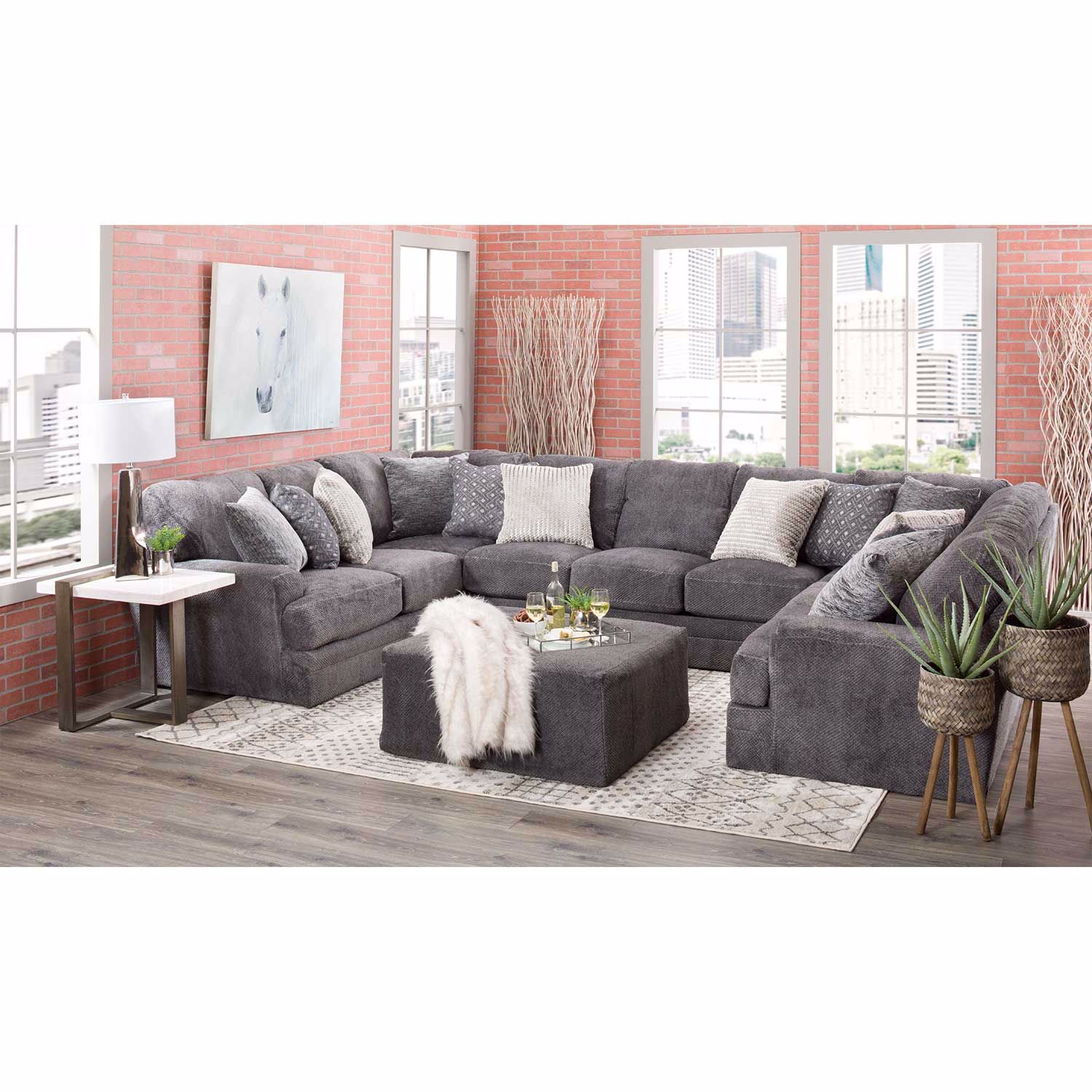 Picture of Mammoth 3 Piece Sectional with LAF and RAF Sofa