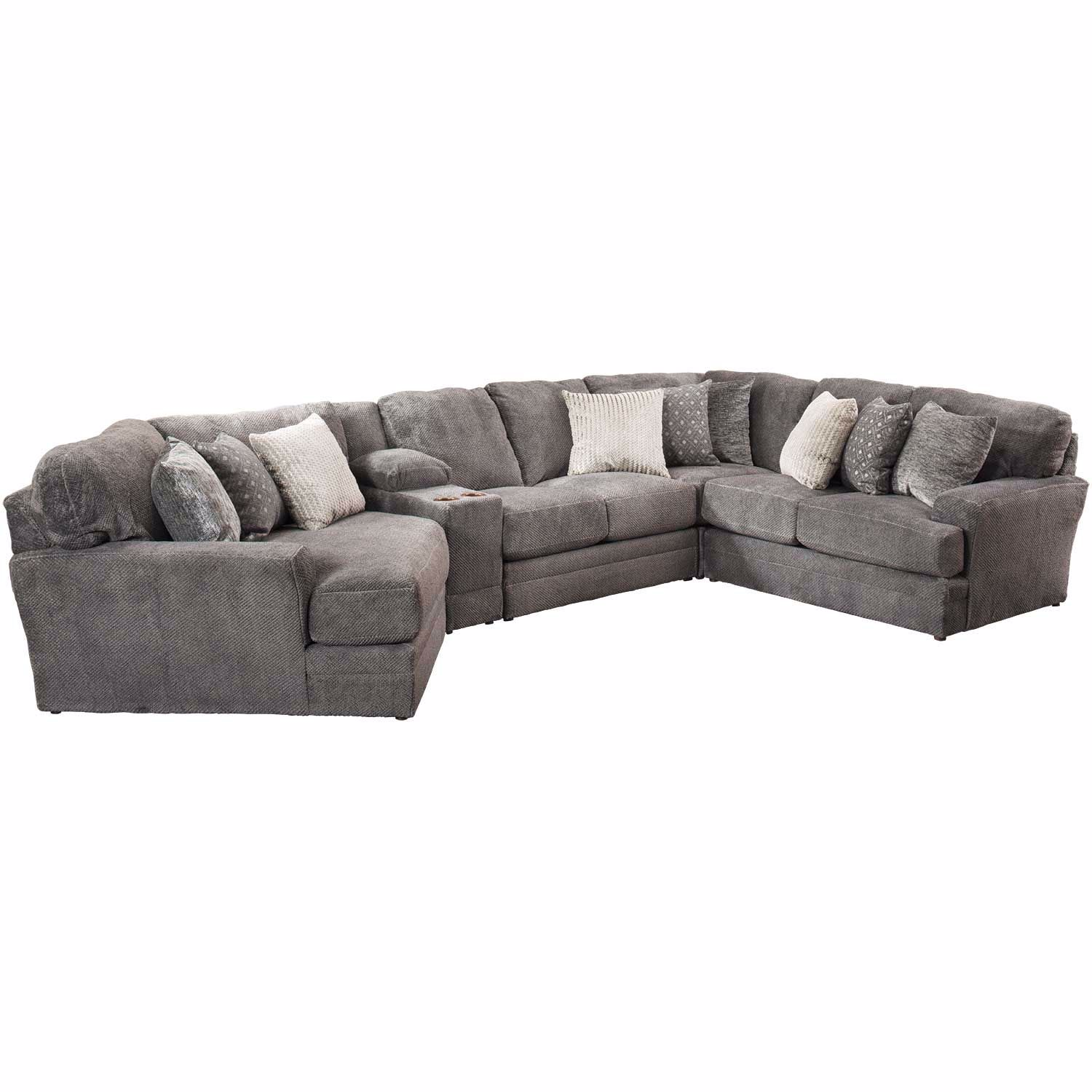 Mammoth 5 Piece Sectional With Laf Wedge