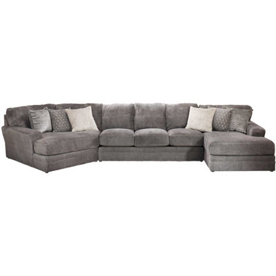 Picture of Mammoth 3 Piece Sectional with RAF Chaise and LAF Wedge