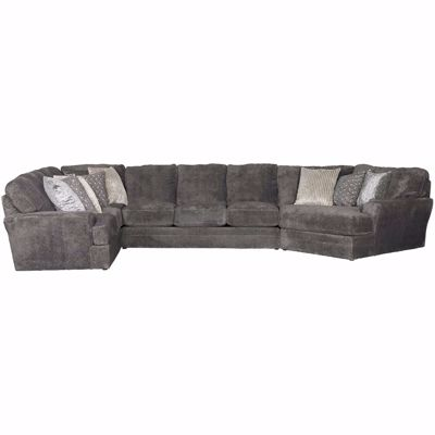 Picture of Mammoth 3 Piece Sectional with RAF Piano Wedge