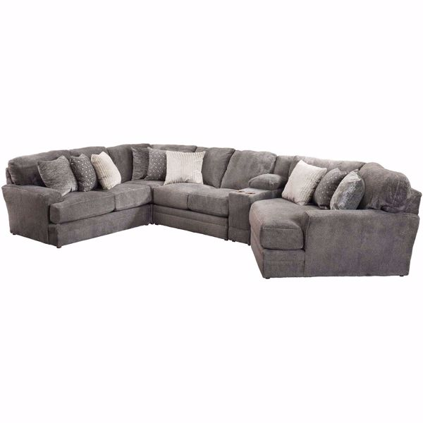 Picture of Mammoth 5 Piece Sectional with RAF Wedge