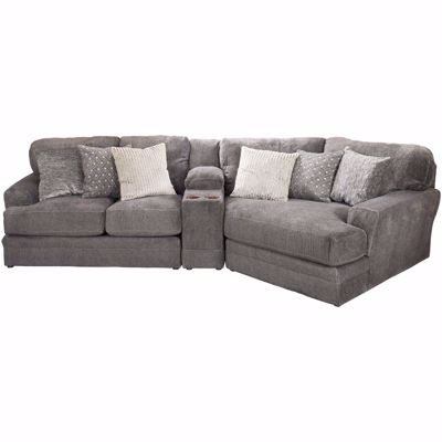 Picture of Mammoth 3 Piece Sectional with RAF Wedge