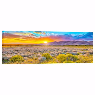 Picture of Autumn Sunset in the Great Sand Dunes 20X60