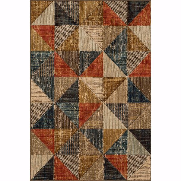 Picture of Mountain Top Multi 5x8 Rug