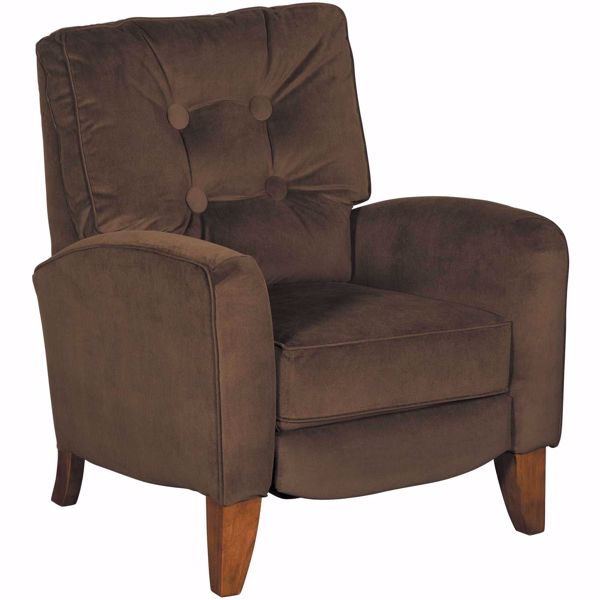 Picture of Fritz Chocolate Push Back Recliner