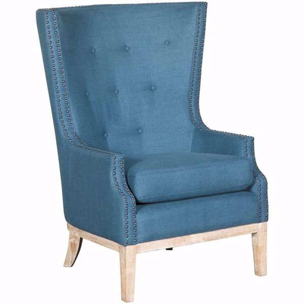 Picture of Cora Blue High Back Chair