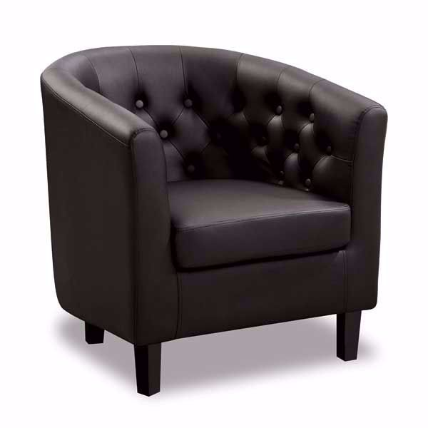 Picture of Mallory Black Tub Chair