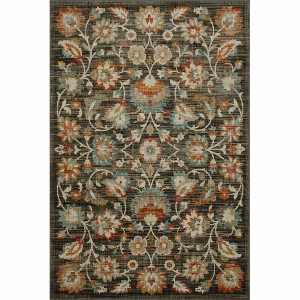 Picture of Abel Onyx Floral 5x8 Rug