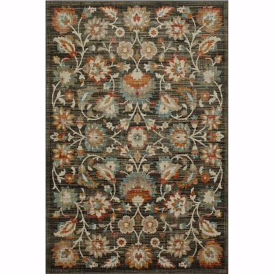 Picture of Abel Onyx Floral 8x11 Rug