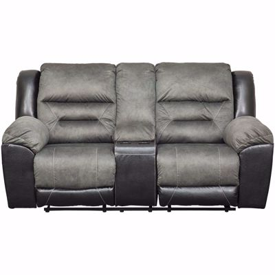 Picture of Earhart Slate Reclining Loveseat