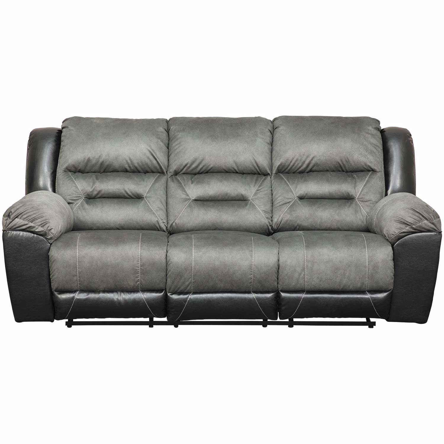 Earhart Slate Reclining Sofa 2910288 Ashley Furniture Afw Com