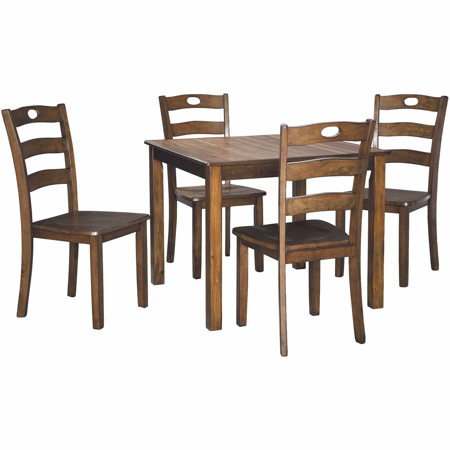 Hazelteen 5 Piece Dining Set D419 225 Ashley Furniture Afw Com