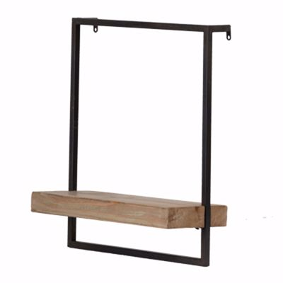 Picture of Wood Metal Industrial Shelf