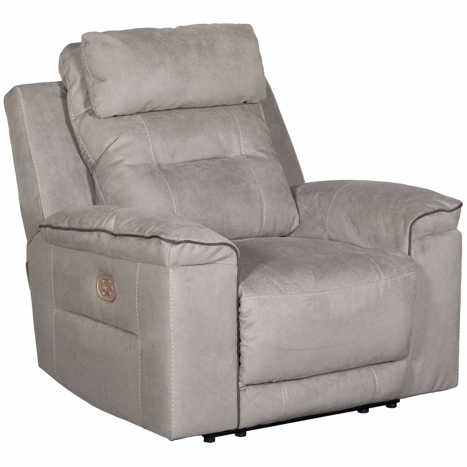 Astounding Trampton Power Recliner With Headrest And Lumbar Ibusinesslaw Wood Chair Design Ideas Ibusinesslaworg