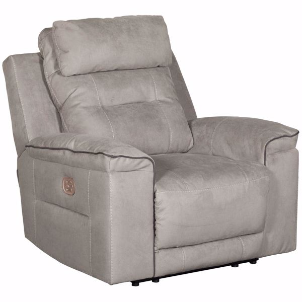 Picture of Trampton Power Recliner with Headrest and Lumbar