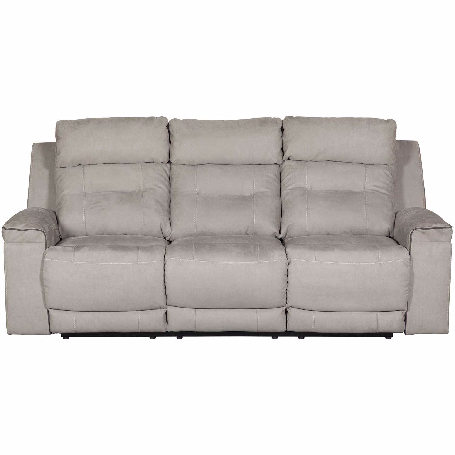 Picture Of Trampton Reclining Sofa With Headrest And Lumbar