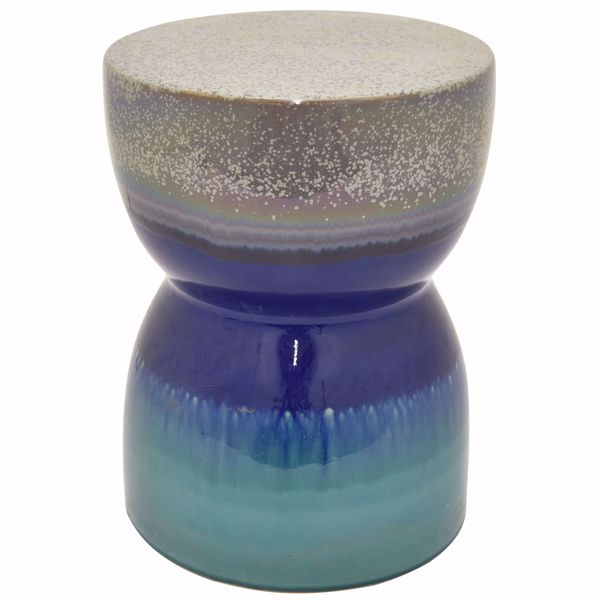 Picture of Blue Garden Stool