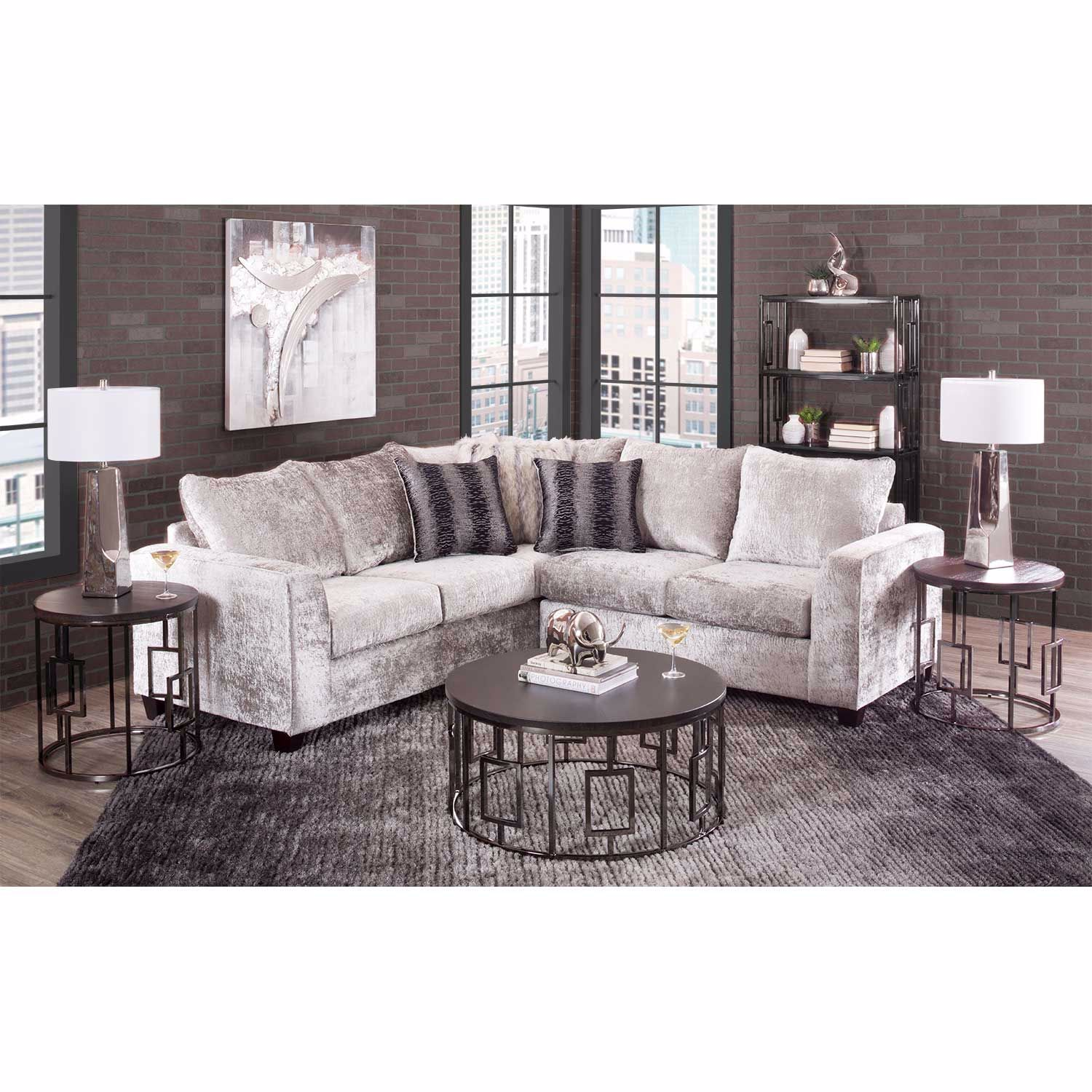 Picture of Majestic Cement 2 Piece Sectional