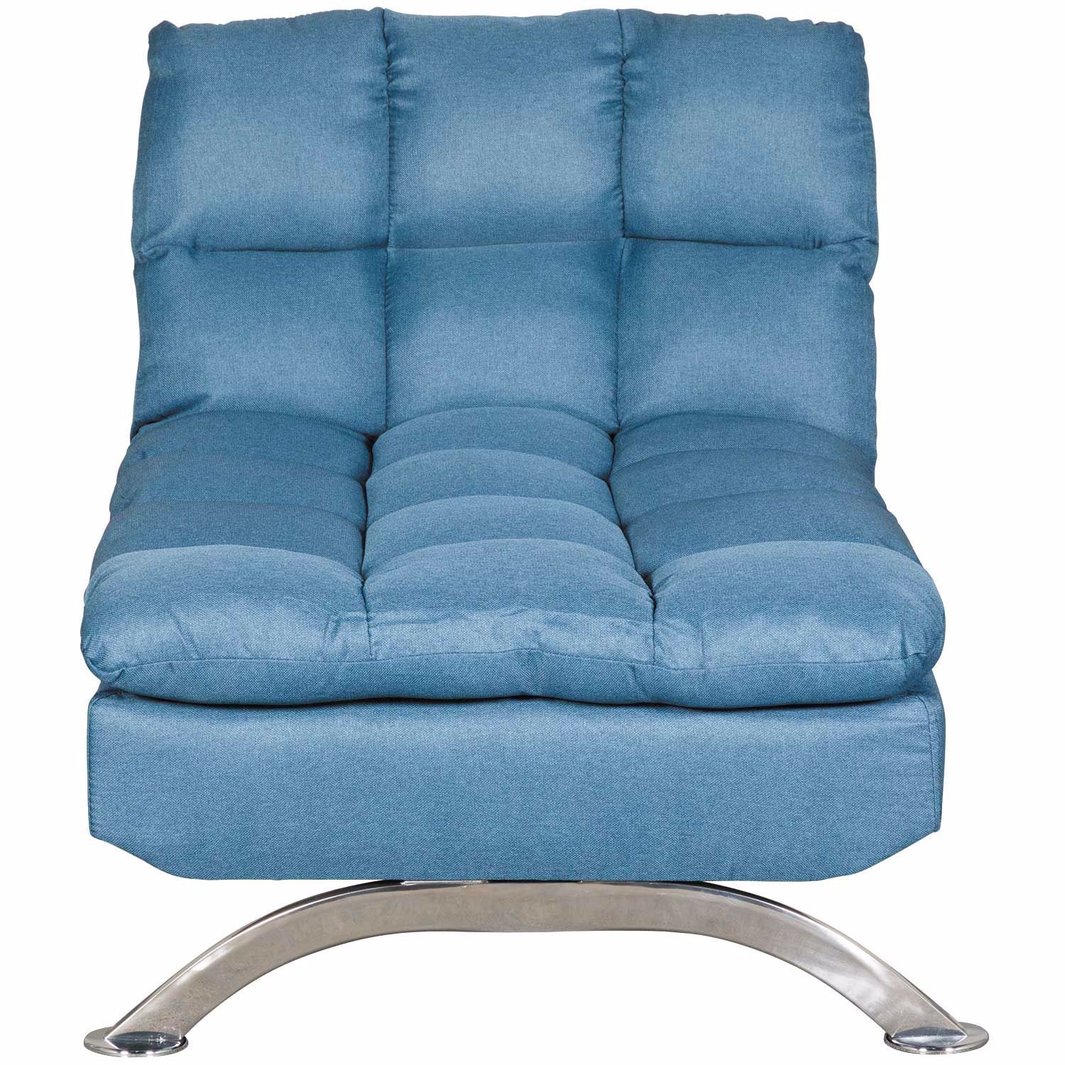 Picture of Mayfill Converta Chaise in Blue Linen