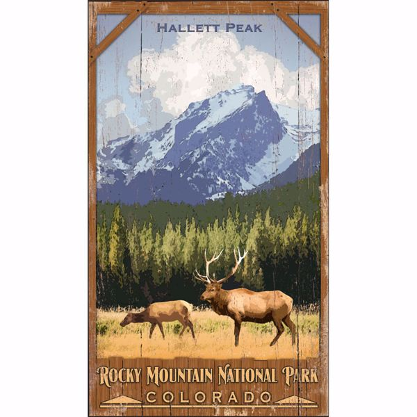 Picture of Rocky Mountain Park Sign