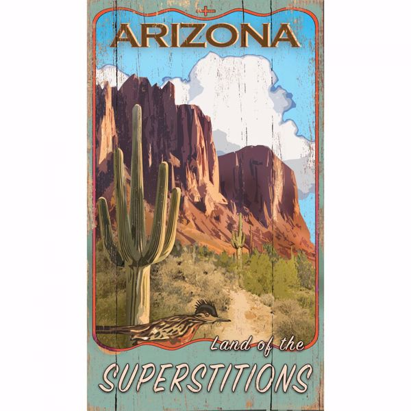 Picture of Superstitions Sign