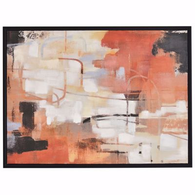 Picture of Coral Black Abstract