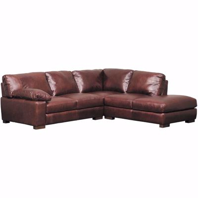 Picture of Barcelona All Leather 2 Piece Sectional with RAF Chaise