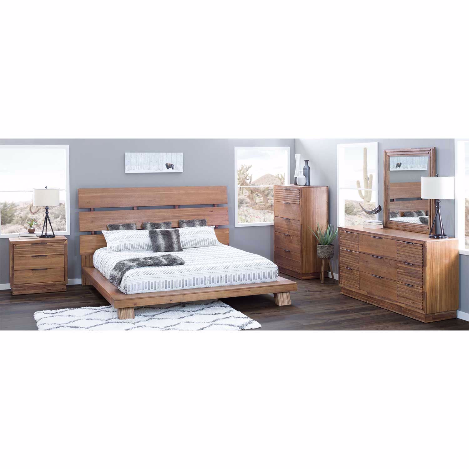 Melbourne 5 Piece Bedroom Set