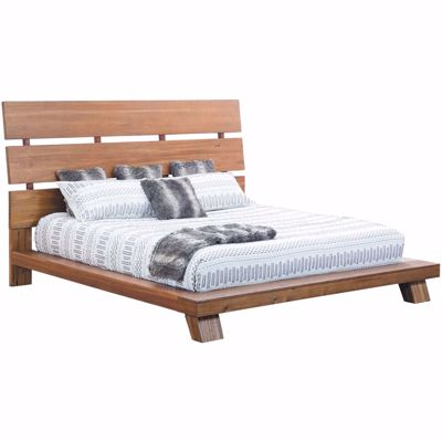 Picture of Melbourne Platform Queen Panel Bed