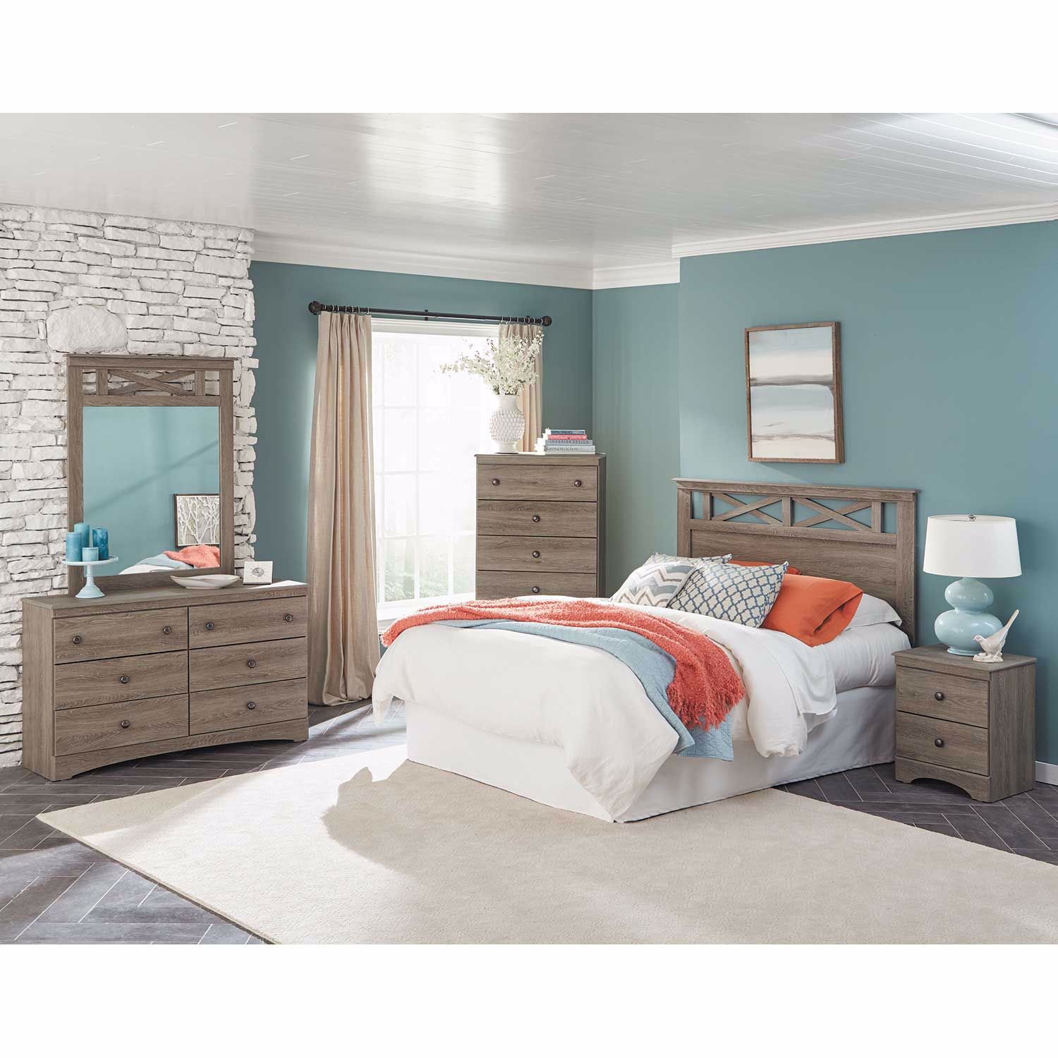 Picture of Mulberry Twin Panel Headboard