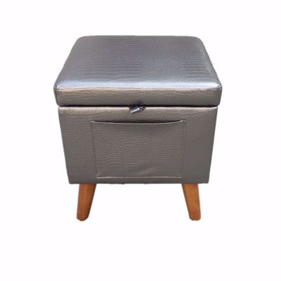 Picture of Grey Crocodile Stool