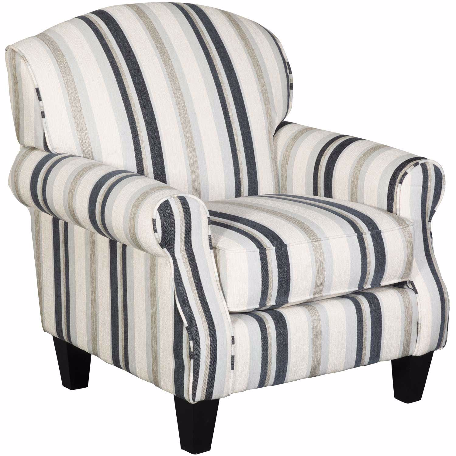 Where To Get Nice Accent Chairs.Hamptons Cobalt Stripe Accent Chair